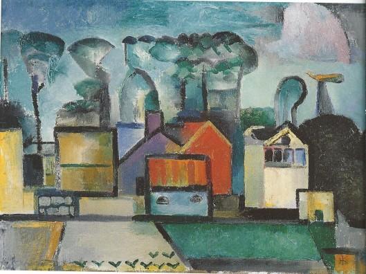 Herman Kruyder: Het lange dorp. Bennebroek, 1922-1926