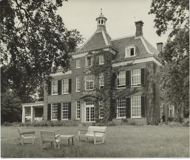 Huize Leyduin op een foto van Articapress uit 1961