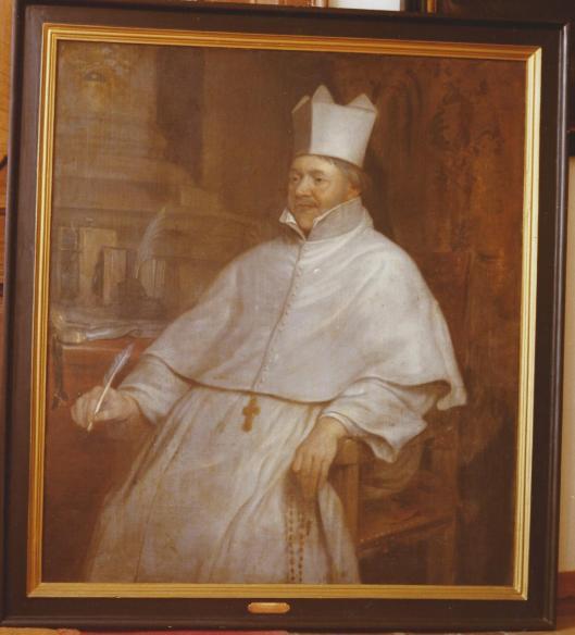 Anoniem portret van Augustinus Wichmans (1596-1661) uit midden 17e eeuw toen hij abt van de abdij in Tongerloo was