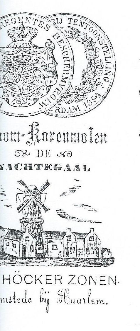 Briefhoofd Höcker en Zonen uit 1914.