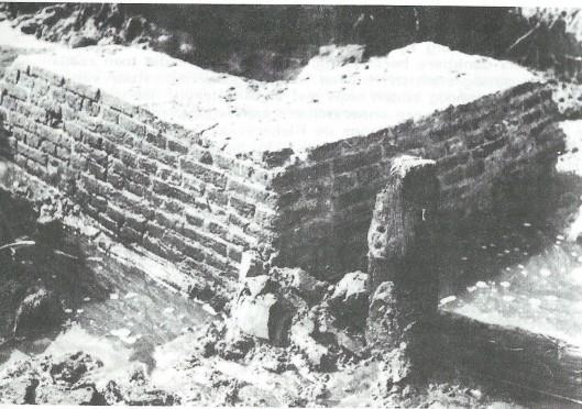 In 1972 en nogmaals in 1985 opgegraven restanten van een blekerij bij de Kadijk: een vierkante spoelbak. Na de opgraving is de kuil weer met zand bedekt.