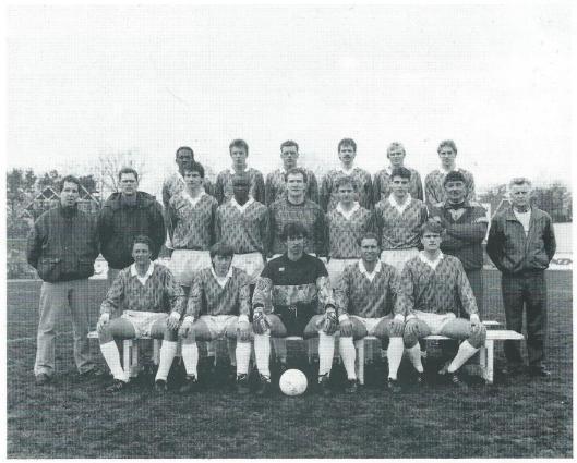 Eerste elftal van RCH seizoen 1990/1991