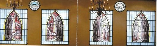 21 december 2014 is de synagoge in Heemstede aan de Lanckhorstlaan geopend. Bij die gelegenheid zijnm de menora en kroonluchters, een gedenkrafel gewijd aan opperrabbijn Philip Franck evenals 4 glas-in lood ramen nog afkomstig uit de ooude sjoel aan de Lange Begijnestraat in Haarlem, meeverhuisd.
