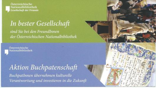 Gesellschaft der Freunde: Oesterreichische Nationalbibliothek, Wien