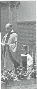 Pastor Martin Wilson van de S.Bavoparochie Heemstede (1970-1978) die op 4 december 1978 na een langdurige ziekte overleed.
