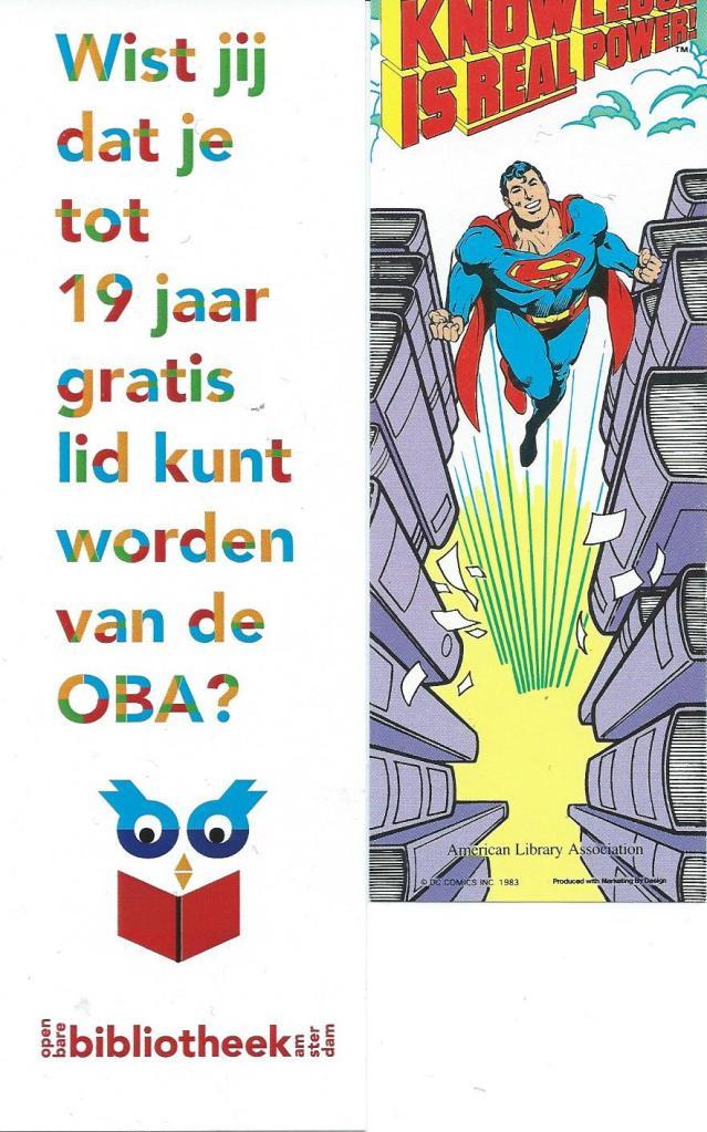 Boekenleggers van Openbare Bibliotheek Amsterdam en American Library Association