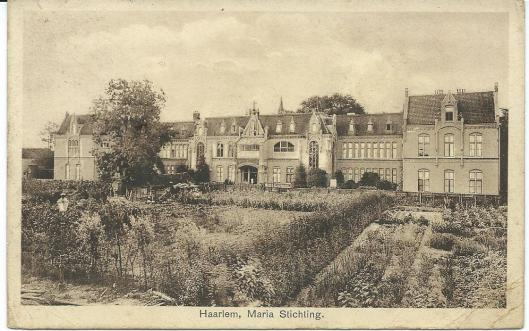 Vooraanbzicht Mariastichting Haarlem