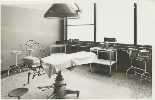 Operatiekamer in ziekenhuis van de Mariastichting Haarlem