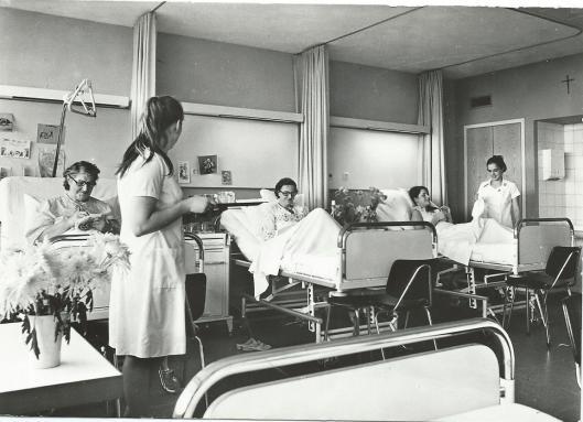 Patiëntenkamer Mariastichting Haarlem