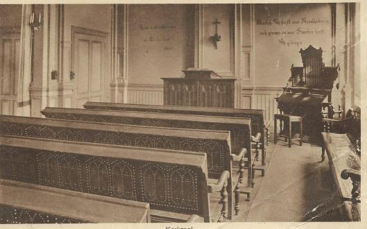 Kerkzaal Diaconessenhuis Haarlem