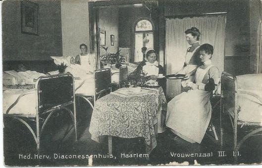 Vrouwenzaal III in Diaconessenhuis Haarlem