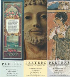 3 boelenleggers Peeters booksellers and publishers. Leuven, België