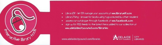 Adelaide City Council: City Libraries, Australia.