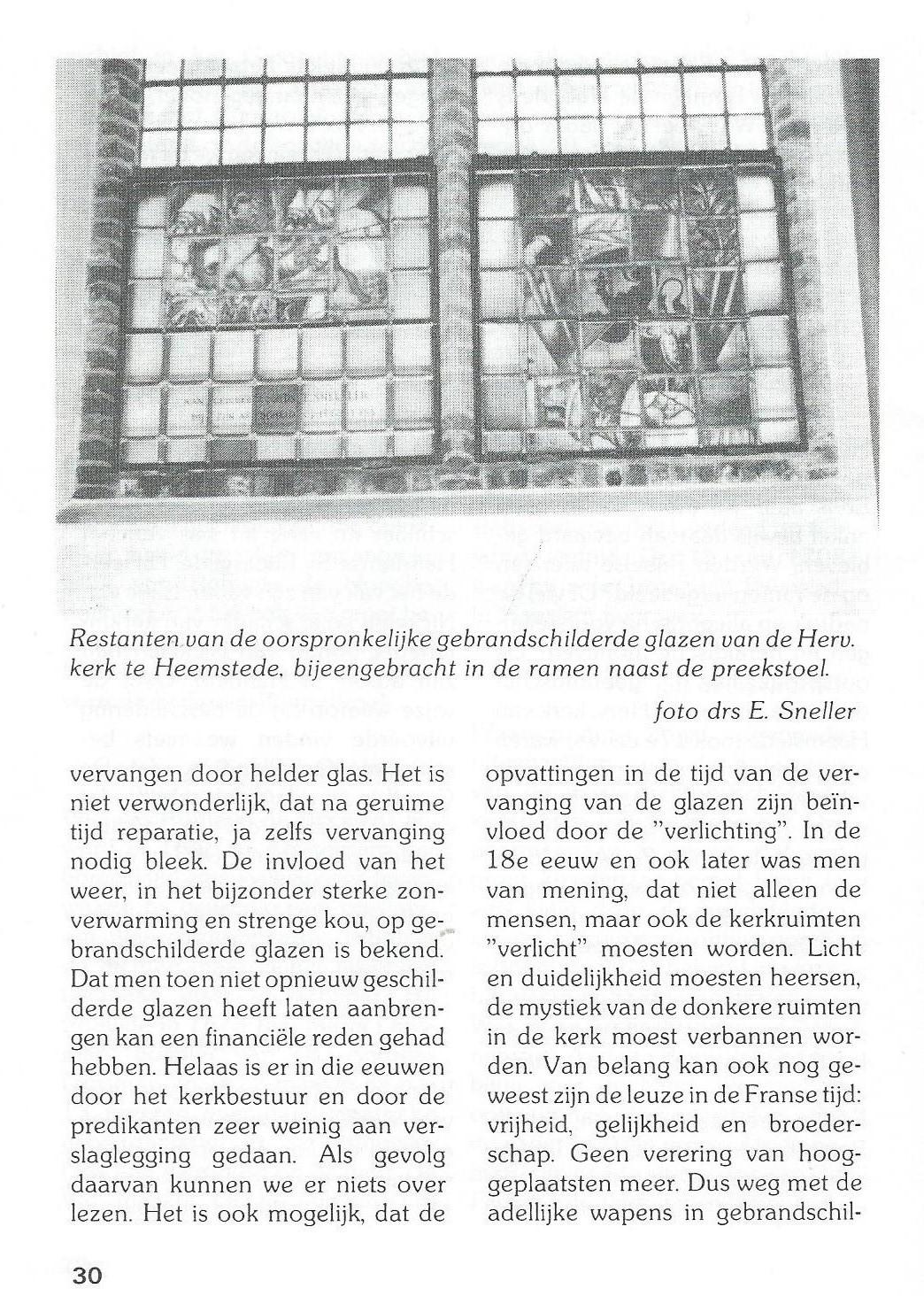 Vervolg kerkramen Bennebroek (4)