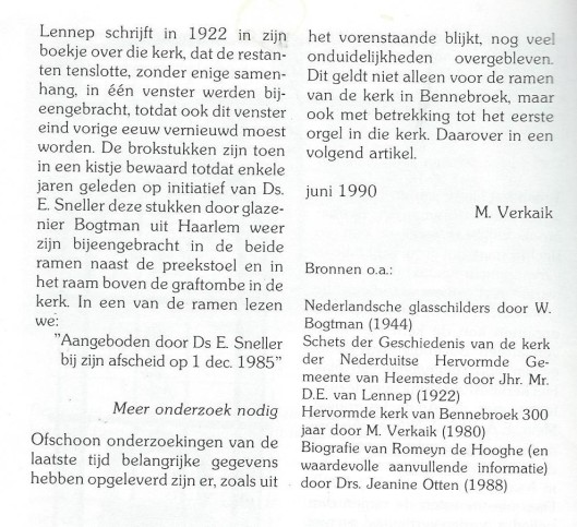 Slot Kerkramen Bennebroek