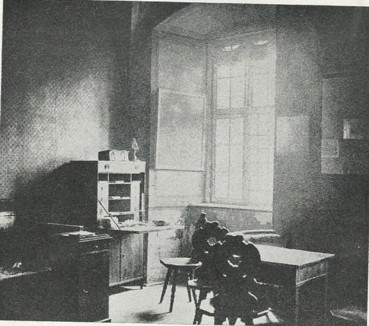 De eenvoudige woonkamer van Casanova in kasteel Dux