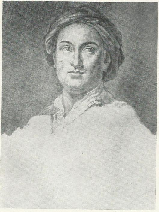 Portret van Giuseppe Casanova (1727-1803), broer van Giacomo Casanova, bekend kunstschilder in zijn tijd vooral van veldslagen en directeur van de Kunstacademie in Dresden.