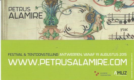 Boekenlegger Almire Foundation, België, Festival van Vlaanderen Amtwerpen