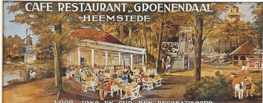 Café-restaurant Groenendaal (collage HVHB)