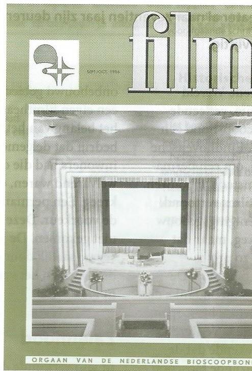 In het tijdschrift Film; orgaan van de Nederlandse Bioscoopbond, publiceerde architect W.Ph. van Harreveld in 1956 het ontwerp van zijn Minervatheater