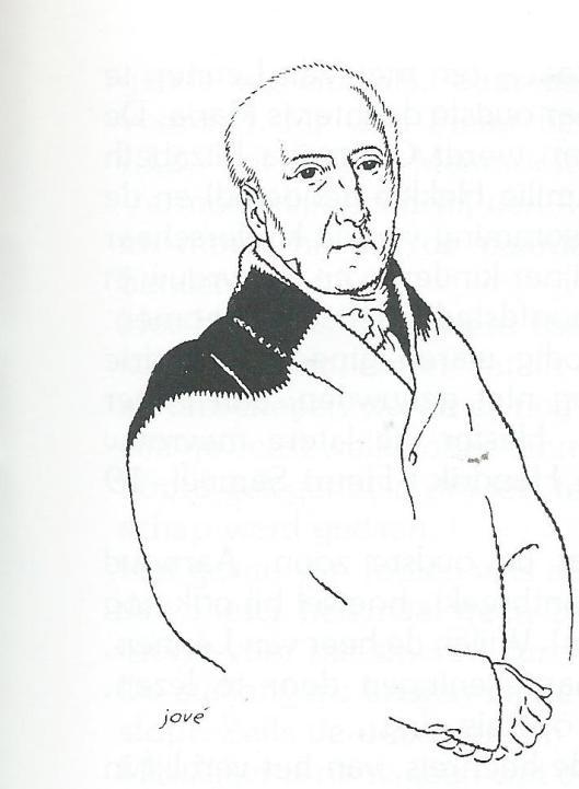 Mr.Jan Pieter van Wickevoort Crommelin, getekend door Jové