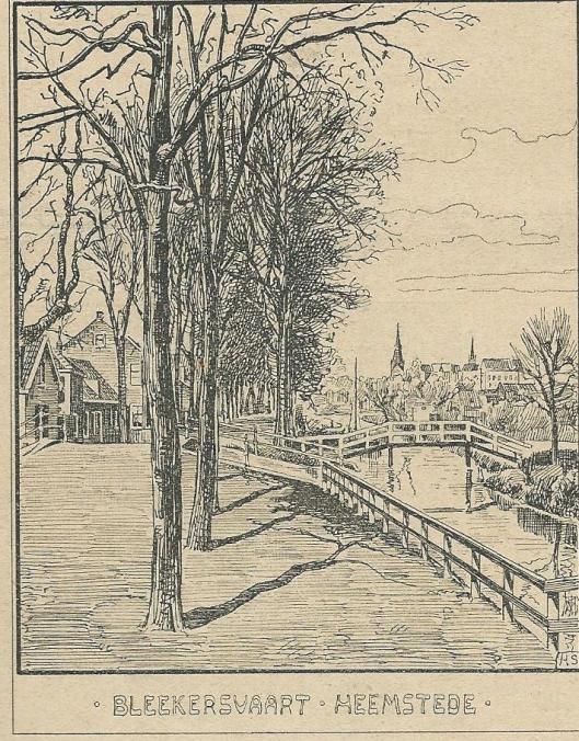 Blekersvaart Heemstede. Zondagsblad, 21 september 1903