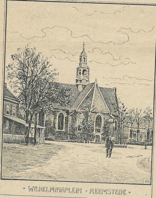 Wilhelminaplein Heemstede, 5 oktober 1903