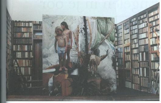 Expositie van Narcisse Tordoir in de bibliotheek van Museum Plantijn-Moretus te Antwerpen (2015)