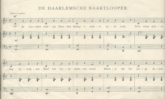 De Haarlemse naaktloper; door Koos Speenhof