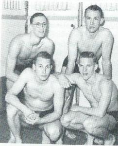 Op 22 aptil 1953 is in het Stoopbad te Overveen het Nederlands record 4 x 100 meter vrije slag verbeterd (4.04.0) door vier H.P.CV.'rs (waaronder twee Pl;ympiërts) Jan Bouwman, Joris Tjebbes, Wim Geurtsen en Ruud Prins (uit Gedenkboek 75 jaar HPC, 1971)