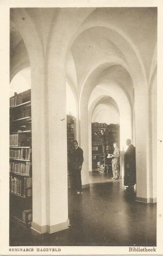 Het inrichten van de seminariebibliotheek Hageveld, 1925