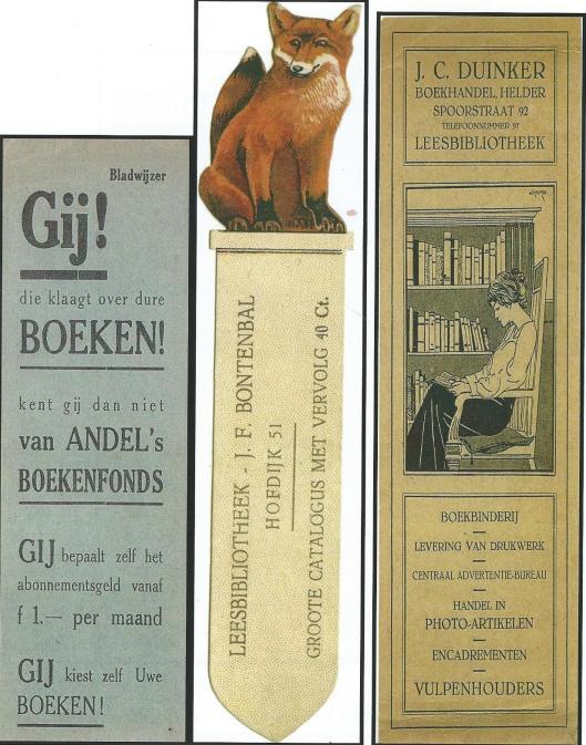 Boekenleggers leesbibliotheken Rotterdam, Den Helder