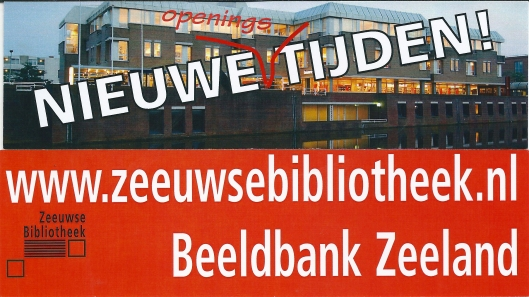 Boekenleggers. Boven: Zeeuwse Bibliotheek Middelburg; onder: Beeldbank van de Zeeuwse Bibliotheek