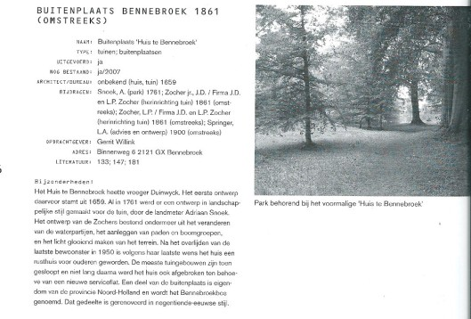 Uit: Josi Smy: J.D.Zocher ujt. 1791-1870 architect en tuinarchitect. Rotterdam, 2008