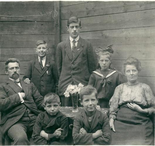 De familie Pos in Zaandam