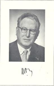 Foto van Nicolaas Vos, uit Haerlem jaarboek 1960.