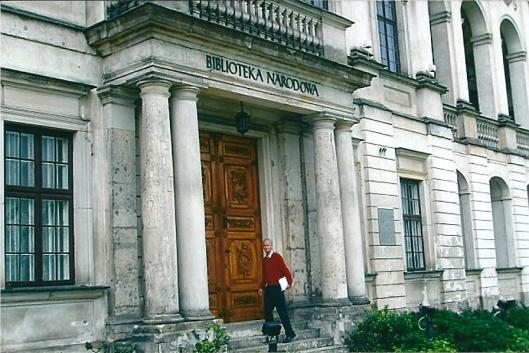 Hans Krol voor de Nationale Bibliotheek in Warschau