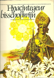 Vooromslag van het boek: Hyacintegeur en bisschopwijn.
