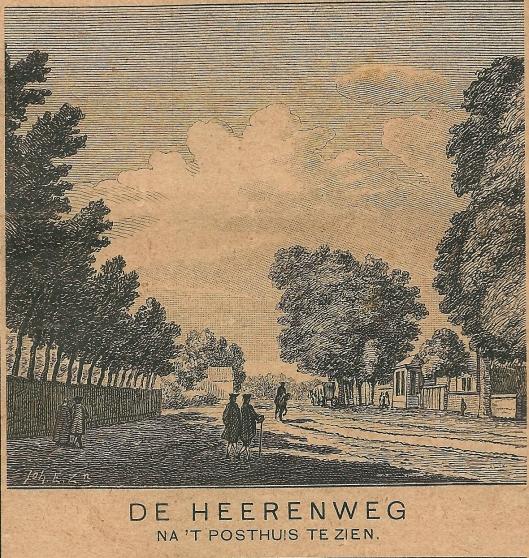 Aan den Heerenweg bij Oud-Berkenrode in de richting van de Dorsige Kuil