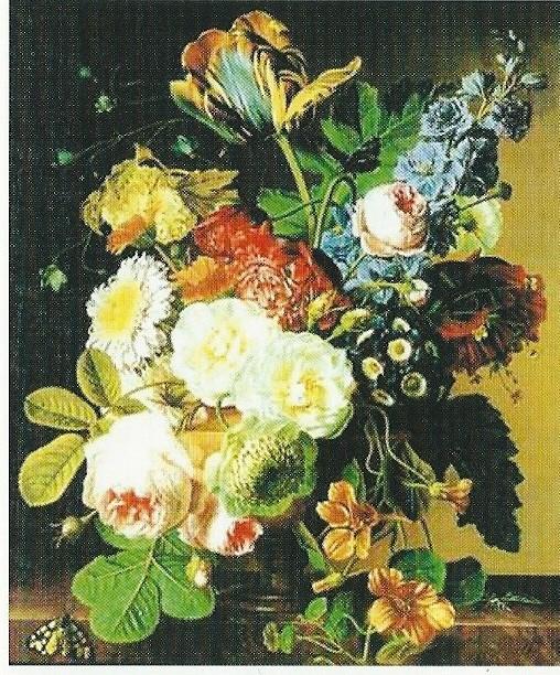 Bloemstilleven van Christiaan van Pol