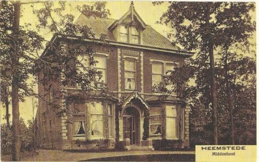 De villa Middenhout in Haarlem
