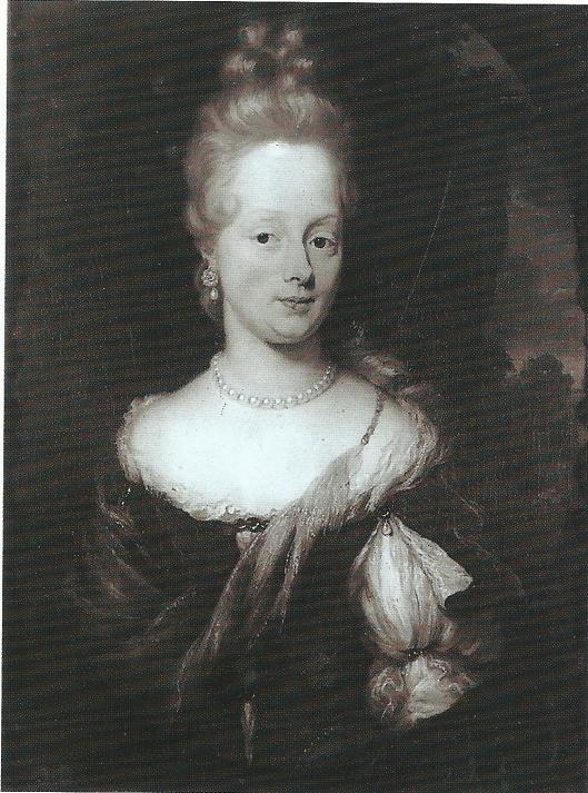 Portret uit 1677 van Elizabeth Tiellens (1652-1724) door Nicolaes Maes