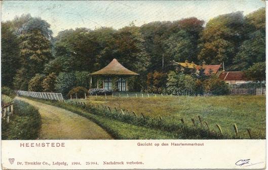 Prentbriefkaart van koepel Ut den Bosch uit omstreeks 1910