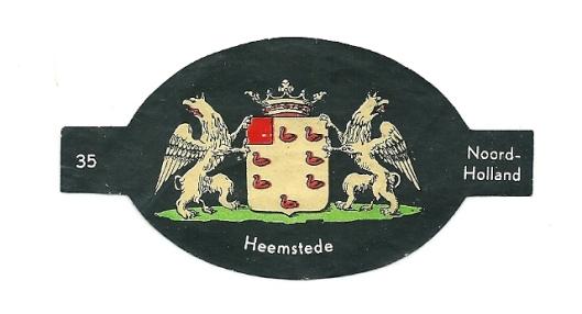 NEWA sigarenbandje Heemstede, Noord-Holland, nummer 35