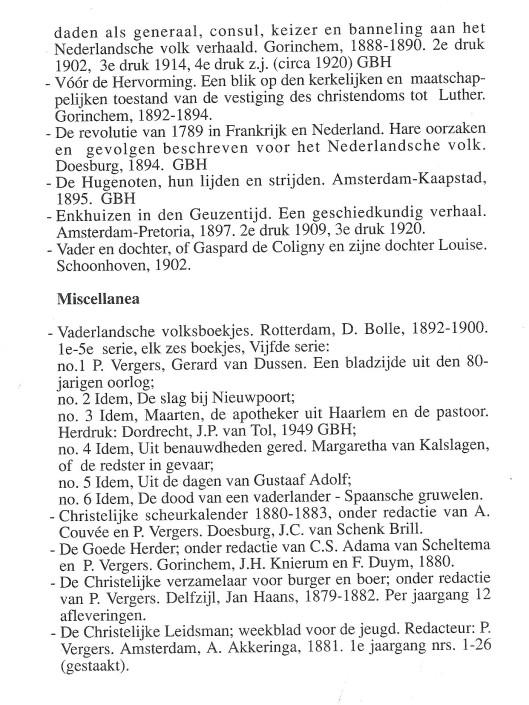 Bibliografie Pieter Vergers (3)