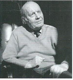 Nico Schrier (1900-1989) op latere leeftijd