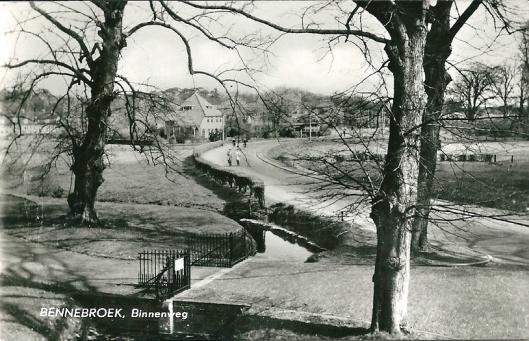 Binnenweg Bennebroek in 1960