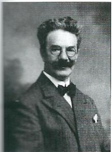 Portret van glazenier Willem Bogtman (1882-1955)