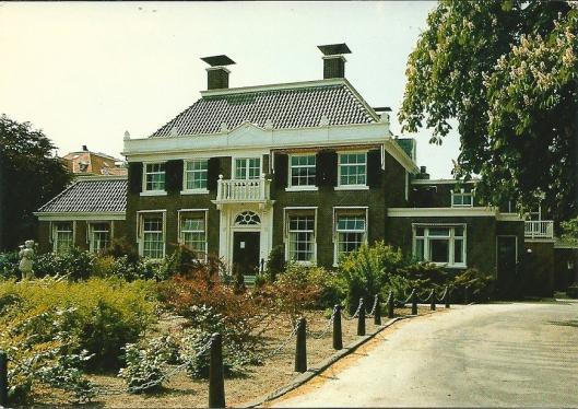 Hoofdgebouw Instituut voor Epilepsiebestrijding Meer en Bosch (SEIN) , Achterweg Heemstede
