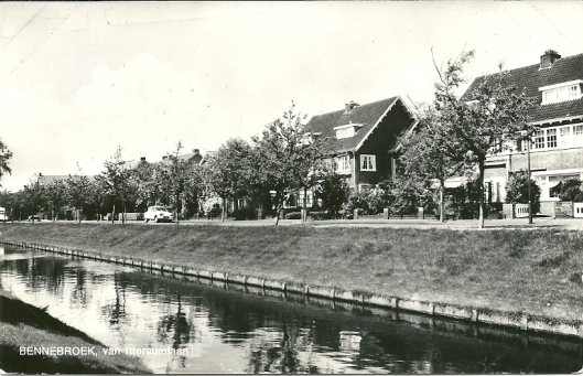 de Van Ittersumlaan in Bennebroek